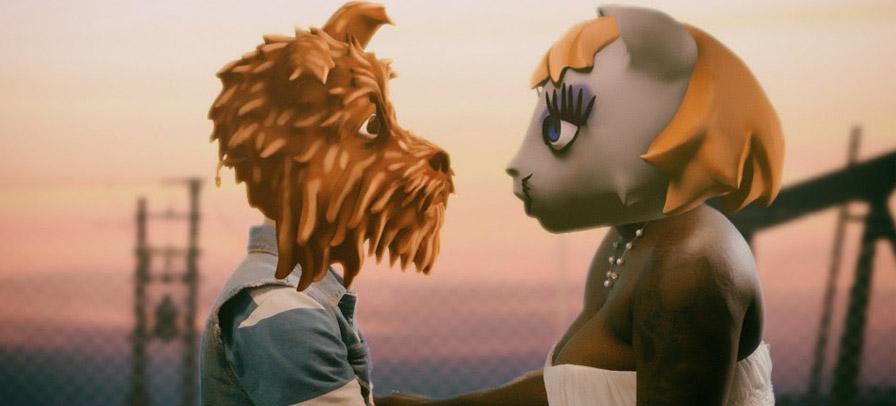 Arcade Fire conta história de amor entre cão e gata em novo clipe
