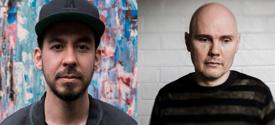 Mike Shinoda e Billy Corgan