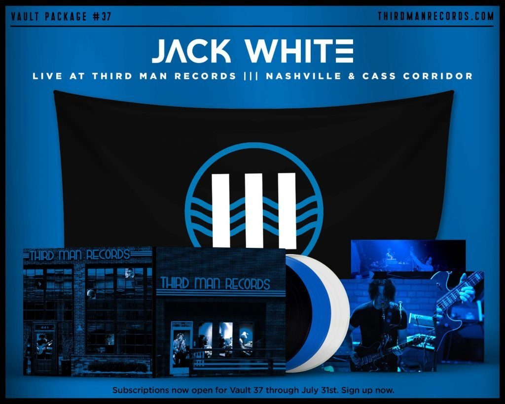 Jack White - Live at Third Man Records Nashville & Cass Corridor