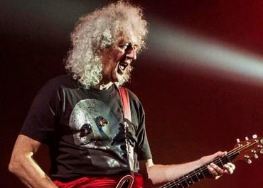 Brian May do Queen