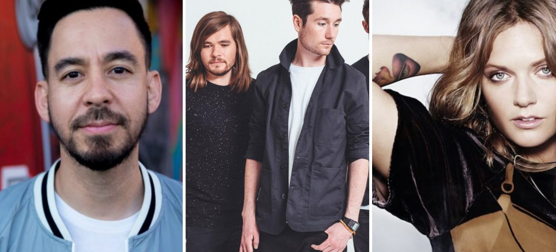 Mike Shinoda, Bastille, Tove Lo