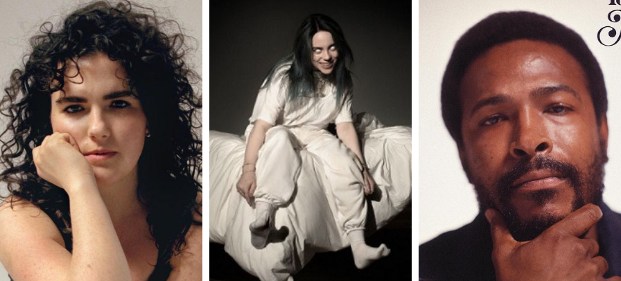 Billie Eilish, Marvin Gaye e Georgia