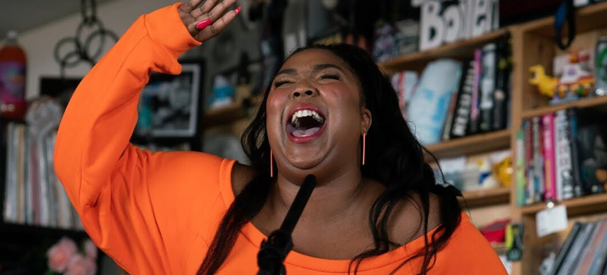 Lizzo na Tiny Desk da NPR Music