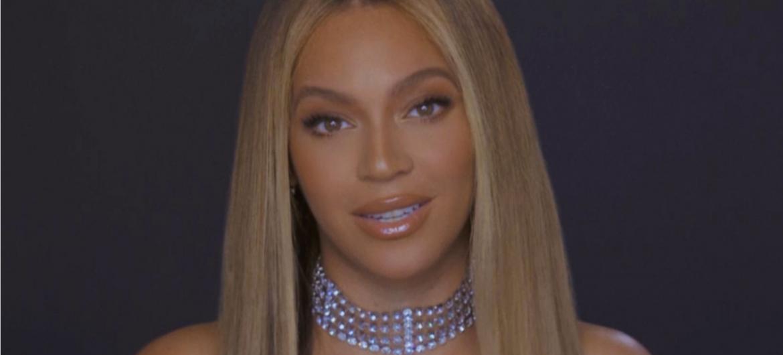 Beyoncé dando discurso no BET Awards 2020