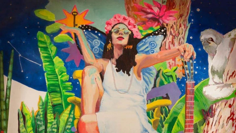 Marisa Monte na capa de 'Portas'