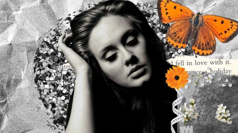 Adele na capa do '21'